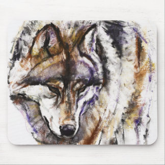 European Wolf Mouse Pad