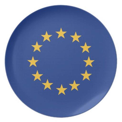 Europeanunion Flag Dinner Plate