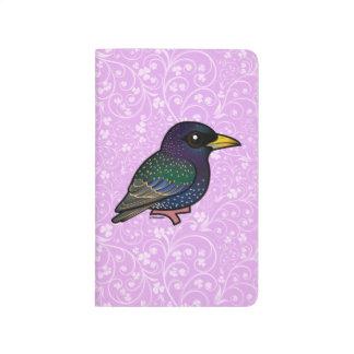 Europeo Starling de Birdorable Cuaderno Grapado