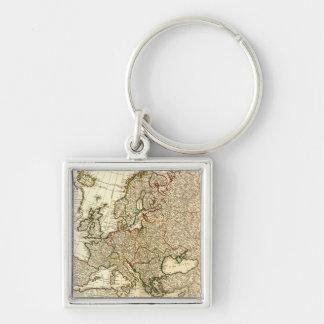 EuropePanoramic MapEurope 2 Key Chain