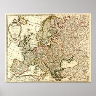 EuropePanoramic MapEurope 2 Impresiones