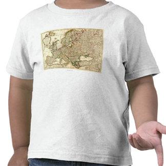 EuropePanoramic MapEurope 2 T-shirts