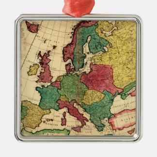 EuropePanoramic MapEurope Ornaments