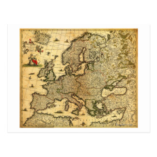 EuropePanoramic MapEurope Post Card