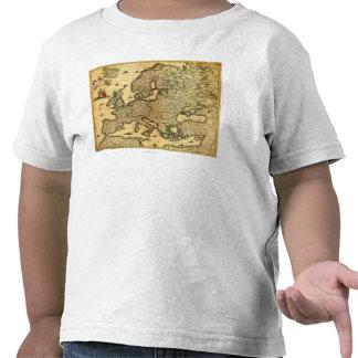 EuropePanoramic MapEurope T Shirt