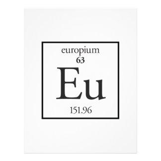 Europium Full Color Flyer