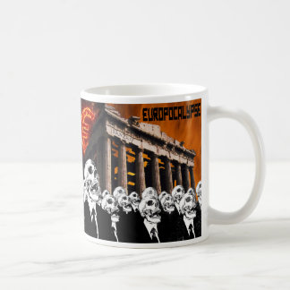 EUROPOCALYPSE CLASSIC WHITE COFFEE MUG