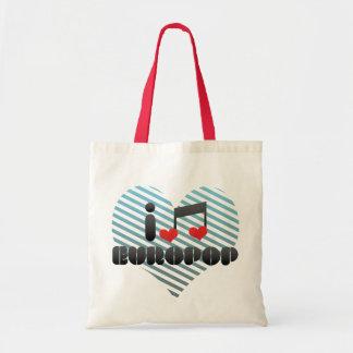 Europop fan tote bags