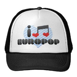 Europop fan hats