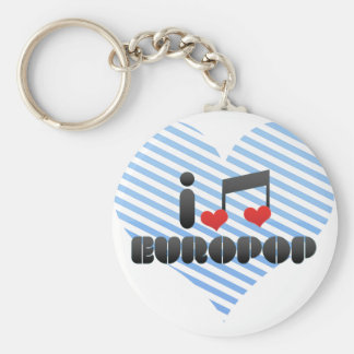 Europop fan key chains