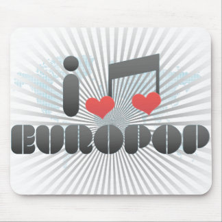 Europop fan mouse pads