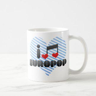 Europop fan classic white coffee mug