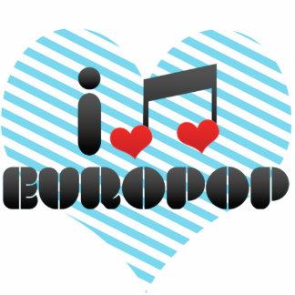 Europop fan photo sculptures