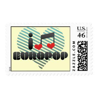 Europop fan stamps