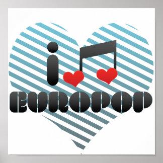 Europop fan poster