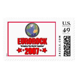 EuroRock2007: ¡Rockin el mundo para la paz! Sellos