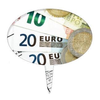 Euros Cake Topper