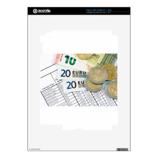 Euros Decal For The iPad 2