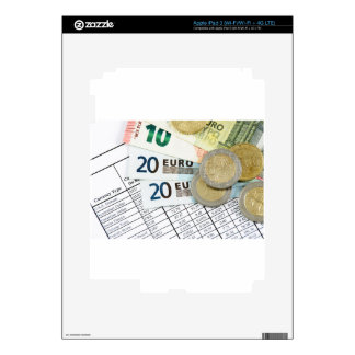 Euros Decals For iPad 3