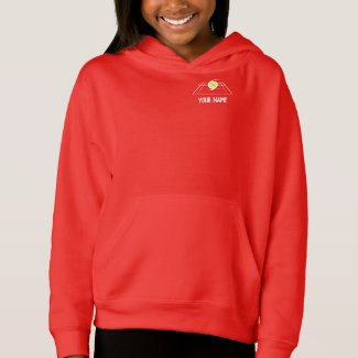 EuroSpin Girls Hoodie Dark Colors