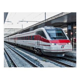 Eurostar Italia ETR 460 at Roma Termini. Postcard
