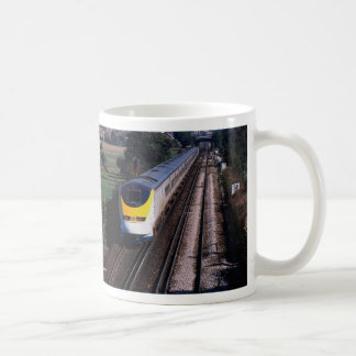 Eurostar passenger train classic white coffee mug