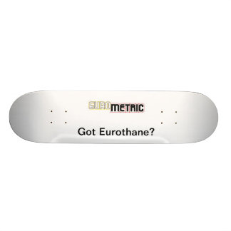 ¿Eurothane conseguido? Cubierta Patines Personalizados