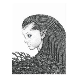 Euryale (versión completa) - postal en blanco