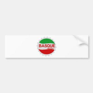Euskadi Basque Bumper Sticker