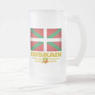 Euskadi (Basque Country) Frosted Glass Beer Mug