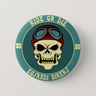 Euskadi bikers pinback button