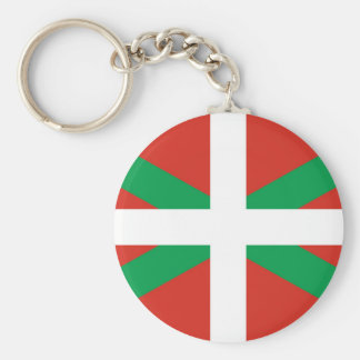 Euskadi Flag - Basque Country - Ikurri Keychain