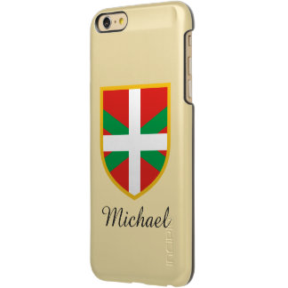 Euskadi Flag Incipio Feather® Shine iPhone 6 Plus Case