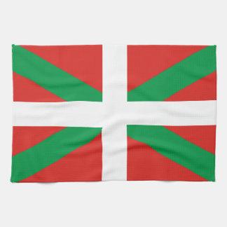 Euskadi Flag Hand Towel