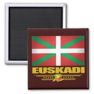Euskadi (país vasco) imán cuadrado
