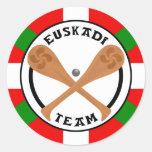 euskadi team sticker