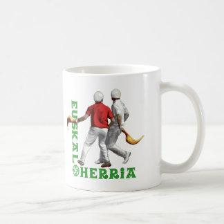 Euskal Herria: Basque sport jai alai (jai-alai), Coffee Mug