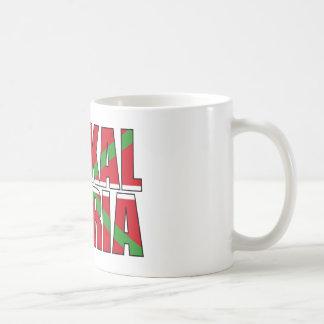 Euskal Herria forms the Basque flag: Ikurriña, Coffee Mug