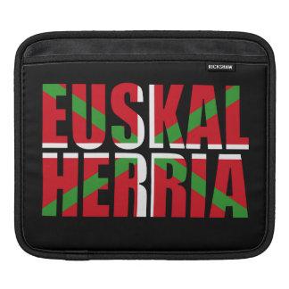 Euskal Herria forms the Basque flag: Ikurriña, iPad Sleeve