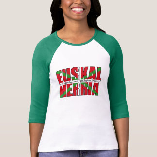 Euskal Herria forms the Basque flag: Ikurriña, T-Shirt