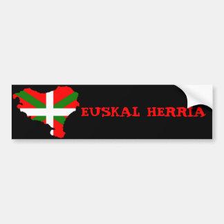 Euskal Herria Pegatina Para Auto