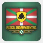 Euskal Independentzia Pegatina Cuadradas