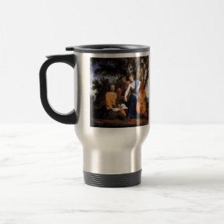 Eustache Le Sueur- Melpomene, Erato and Polyhymnia Coffee Mugs