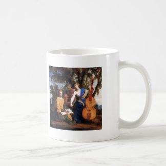 Eustache Le Sueur- Melpomene, Erato and Polyhymnia Coffee Mug