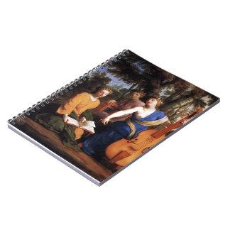 Eustache Le Sueur- Melpomene, Erato and Polyhymnia Note Books