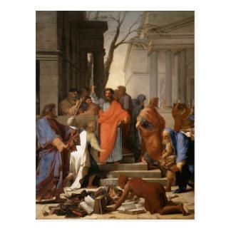 Eustache Le Sueur-Preaching of St. Paul at Ephesus Postcard