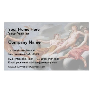 Eustache Sueur- Cupid Ordering Mercury Business Card