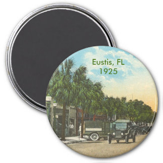 Eustis, FL - 1925 3 Inch Round Magnet