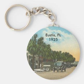Eustis, FL - Downtown -1925 Basic Round Button Keychain