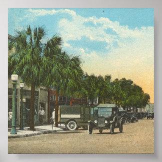EUSTIS, FL - Downtown,  1925 Poster
